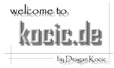 welcome to kocic.de
